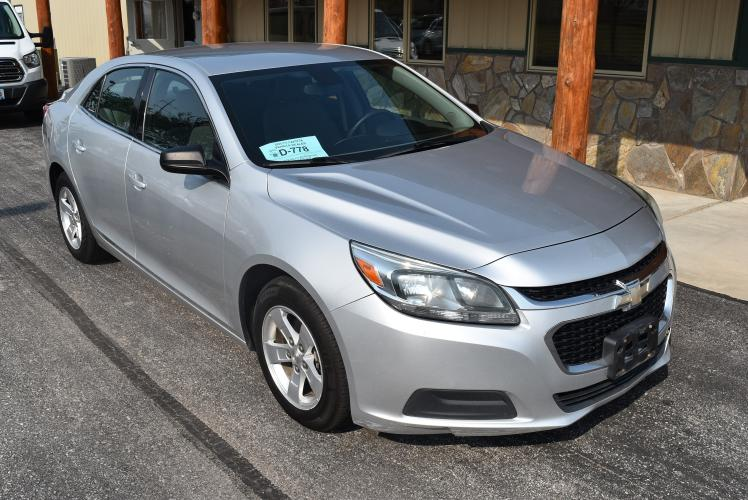 2015 Silver Chevrolet Malibu LS Fleet (1G11A5SL4FF) with an 2.5L 4 Cyl engine, 6-Speed Automatic transmission, located at 1600 E Hwy 44, Rapid City, SD, 57703, (605) 716-7878, 44.070232, -103.171410 - Photo #0