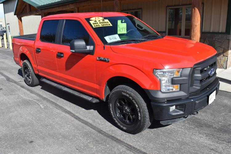 2015 Ford F-150 XL Crewcab 4X4 Pickup Truck