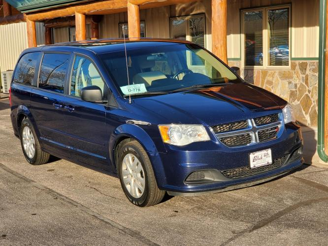 2016 Blue Dodge Grand Caravan , located at 1600 E Hwy 44, Rapid City, SD, 57703, (605) 716-7878, 44.070232, -103.171410 - Photo #0